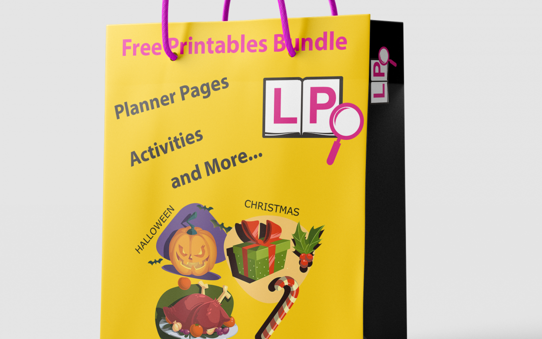"""Get your """"Lucky Dip"""" of Large Print Printables"""
